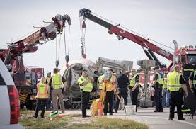 2 Omaha Men Killed When Turning Concrete Truck Tips Onto Car At ...