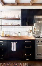 photo cuisine avec carrelage metro carrelage métro le style déco chic d un carrelage de cuisine