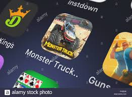 100 Play Monster Truck Games London United Kingdom October 26 2018 Screenshot Of The Mobile