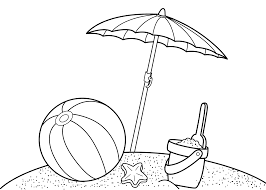 Download Coloring Pages Summer Free Printable For Kids