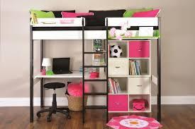 walmart full loft bed with desk walmart fire truck loft bed within
