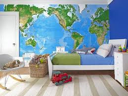 Love The Map And Green Accents Little Boys RoomsBedroom Kids3 Year Old Boy Bedroom IdeasToddler