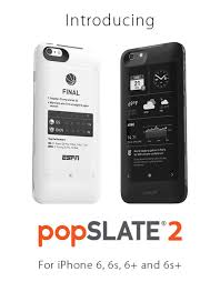 Popslate 2 Pre Orders – An iPhone Case with an E Ink Screen and