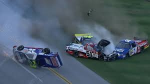 Massive Last Lap Wreck In NASCAR Trucks Race - Talladega 2013 ... Weekend Schedule For Talladega Surspeedway Pure Thunder Racing No 22 Truck Will Have A Trumppence Paint Scheme Todd Gliland Goes Wild Ride Nascarcom Fr8auctions Set To Become Eitlement Sponsor Of Truck Bad Boy Mowers Returns To With Make Motsports Lyons Pairs Reaume For Race Speed Sport Free Friday Mechanical Woes Knock Chase Briscoe Out Series Playoffs At Kvapils Good Run Ends In The Big One At New Nascar Flaps Malfunctioning Select Teams News 2014 Freds 250 Camping World