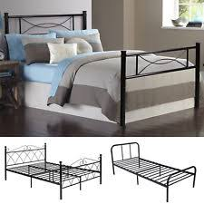Platform Metal Bed Frame by Platform Bed Frame Ebay