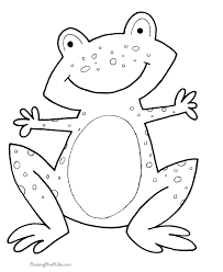 Shocking Ideas Toddler Coloring Pages To Print For Preschool