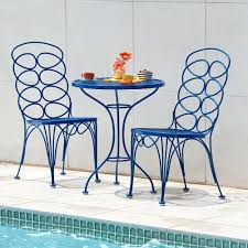 3 Piece Bar Height Patio Bistro Set by 100 Bistro Set Outdoor Bar Height Hanover Manor 3 Piece Round