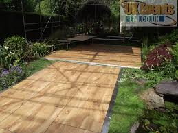 our outdoor parquet dance floor is perfect if you are having an