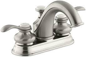 Kohler Forte Bathroom Faucet by Kohler K 12266 4 Cp Fairfax Centerset Lavatory Faucet Polished