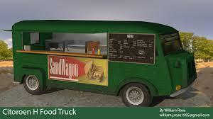 100 Green Food Truck ArtStation Citroen H William Rose