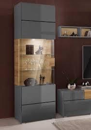 trendmanufaktur vitrine toledo höhe 204 cm otto