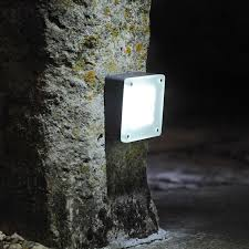 techmar 12v low voltage led play garden wall lights