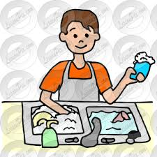 Image Free Library Dishwasher Picture For Classroom Therapy Use Great Stock Washing Dishes Clipart