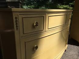 Kent Coffey Blonde Dresser by Mid Century Long Dresser In Blonde Wood Attainable Vintage