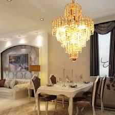 kristall gold design decken kronleuchter wohnzimmer lüster