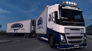 100 Tandem Truck VOLVO FH16 2012 TANDEM 132 TRUCK MOD Euro Simulator 2 Mods