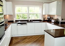 handleless white gloss kitchen modern kitchen design pinterest