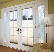 French Patio Doors With Internal Blinds by Patio Doors With Blinds Integrated Mini Intended Decorating Ideas