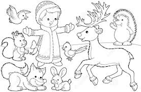 Free Printable Coloring Pages Christmas Santa Deer For Girls Boys 505843 2015