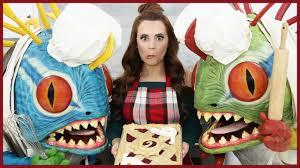 Nerdy Nummies Halloween Cupcakes by Hearthstone Cherry Pie Nerdy Nummies Youtube
