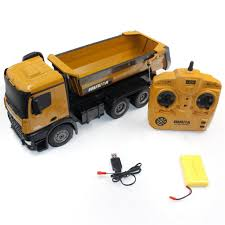100 Rc Truck With Plow HUINA TOYS 1573 114 10CH Alloy RC Dump S Engineering