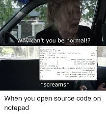 Focus Programmer Humor And Aio Why Cant You Be Normal