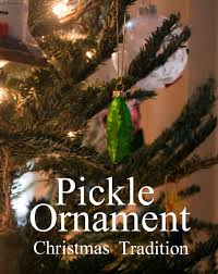 Pickle On Christmas Tree Myth by Images Of Pickle Christmas Tree Tradition Christmas Tree