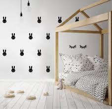 stikers chambre pom le bonhomme stickers muraux déco design chambre bébé enfant