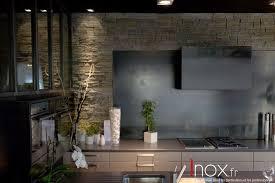 habillage de hotte de cuisine inox fr tous les éléments de cuisine