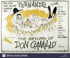 THE RETURN OF DON CAMILLO Aka LE RETOUR DE US Lobbycard