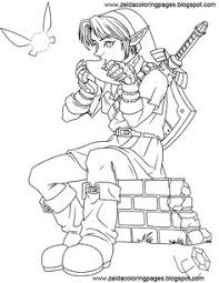 Some More Zelda Coloring Pages Love