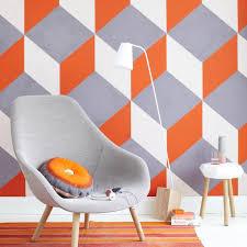 wände gestalten mit mustern farben living at home