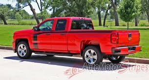 100 Chevy Special Edition Trucks 20162018 Silverado Door Stripes Flow Truck