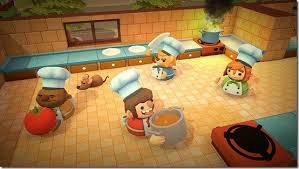 jeux cuisine la team17 annonce overcooked un jeu de cuisine en coopération sur