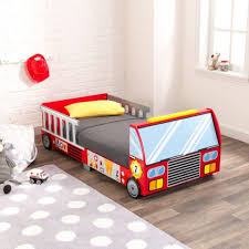 Kidkraft 76021 Kids Red Fireman Fire Engine Truck Toddler Bed Cot ... Decoration Fire Truck Crib Bedding Set Lambs Ivy 9 Piece 13 Truck Bedding Twin Flannel Fire Crib Sheet Baby Bedroom Sets For Girls Pink And Gray Awesome Sheet Sheets Dijizz Shop Boys Theme 4piece Standard Firetruck Brown Dinosaur Baby Boy 9pc Nursery Collection Firefighter Decor Boy Room Vintage Plus Engine Together With Geenny Gray Buck Deer Skin Minky White Arrow Fxfull