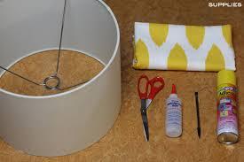 Fabric Covered Lamp Shades Frugal Nomics DIY Lampshade Com 4