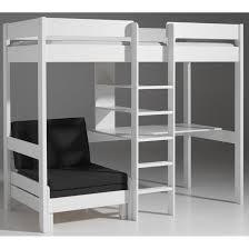 lit mezzanine bureau blanc lit mezzanine 1 place blanc fabulous place blanc avec bureau