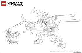 Ninjago Monster Vs Dogshank Coloring Pages Printable