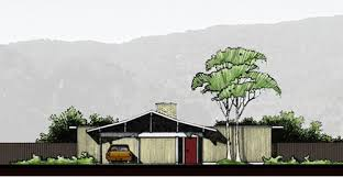 Mid Century Modern House Designs Photo by Historic Mid Century Modern House Plans For Sale Today Retro