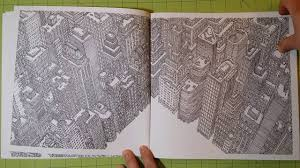 The Fantastic Cityscapes By Mister Mourao Adult Coloring Book Review Flip Through