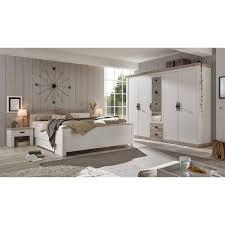 180x200 schlafzimmer möbel komplett nedita i 4 teilig
