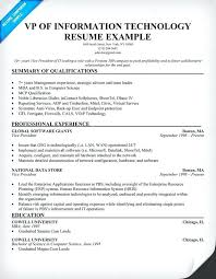 Resume Information Technology Examples 2012