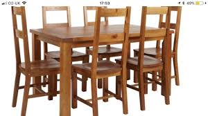 Brand New 4 Dining Room Chairs