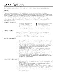 Resume Sample Standard Objective Career Change Depy Nvr Com For