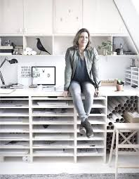 Workspace Home And Studio Of Dutch Graphic Designer Interior Maaike Koster In Haarlem