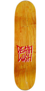 100 Ccs Decks Deathwish Deathspray Punch Out Skateboard Deck 825 Blue Stain