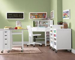 Martha stewart craft desk petent print living space corner