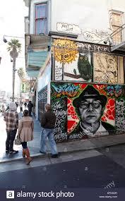 clarion alley mural stock photos clarion alley mural stock