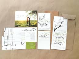 Rustic Wedding Invitation Kits Card