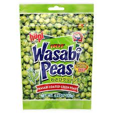 Hapi Hot Wasabi Peas 4 23 oz